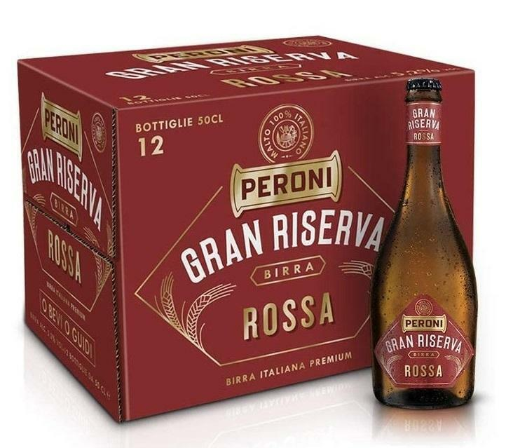 peroni peroni gran riserva rossa 50 cl 12pz