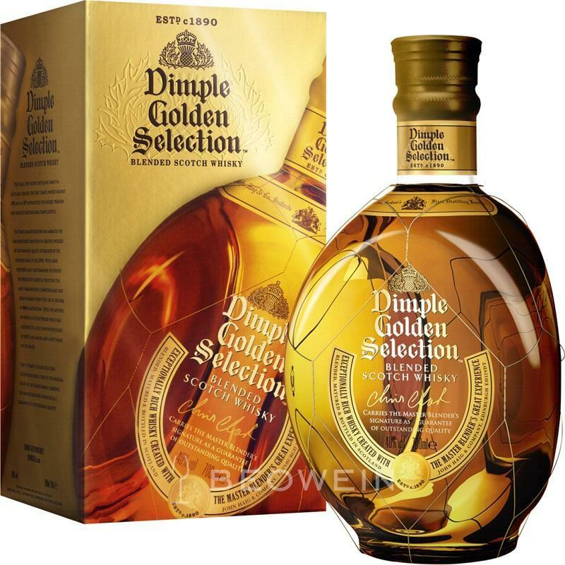 dimple golden selection dimple golden selection blended scotch whisky 70 cl in astuccio