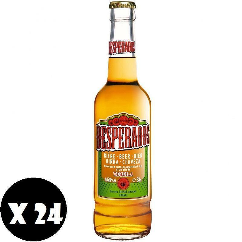 desperados desperados birra tequila 33 cl 24pz
