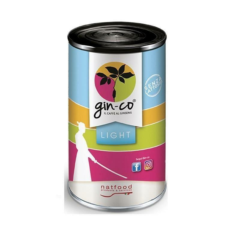 natfood natfood ginseng ginco light solubile gin-co 500g in busta o latta