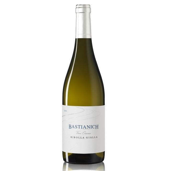 bastianich bastianich colli orientali del friuli doc ribolla gialla vini orsone  75 cl