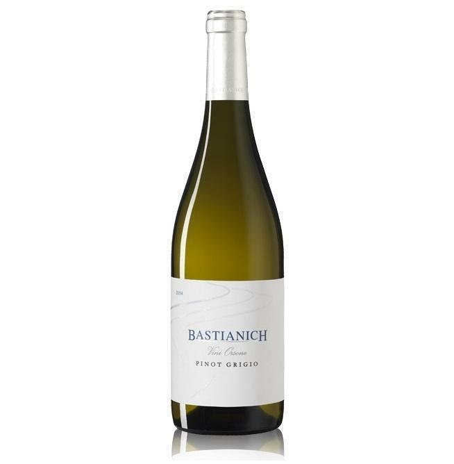 bastianich bastianich colli orientali del friuli pinot grigio vini orsone 75 cl