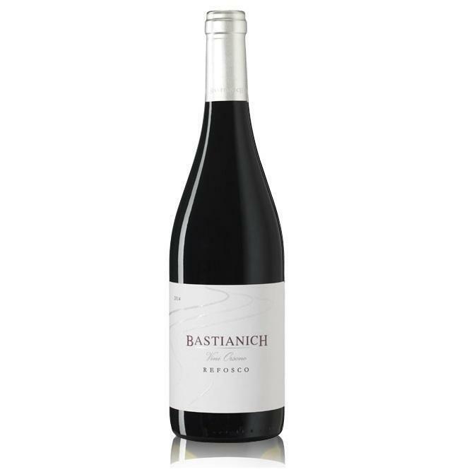 bastianich bastianich colli orientali del friuli doc refosco vini orsone 2019 75 cl