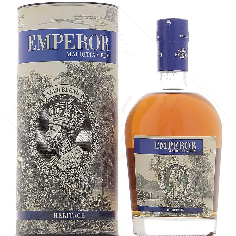 emperor emperor mauritian rum heritage 70 cl in astuccio
