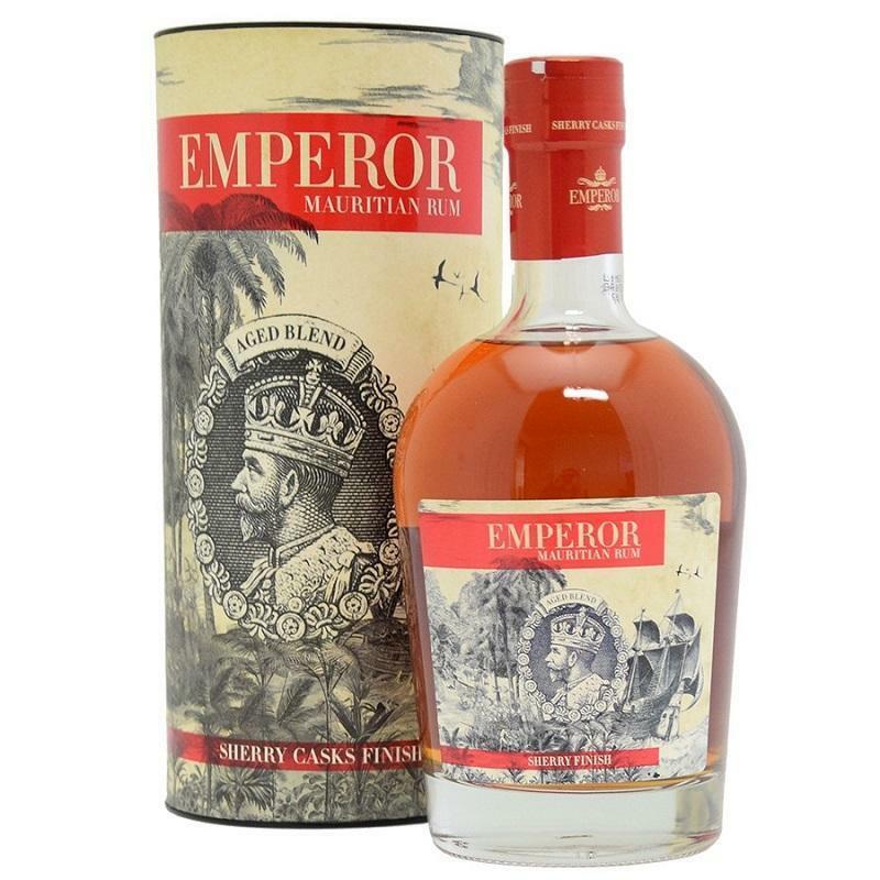 emperor emperor mauritian rum sherry casks finish 70 cl in astuccio