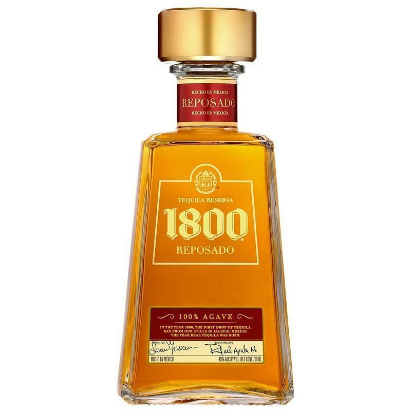 jose cuervo jose cuervo tequila reserva 1800 reposado 100% agave 70 cl
