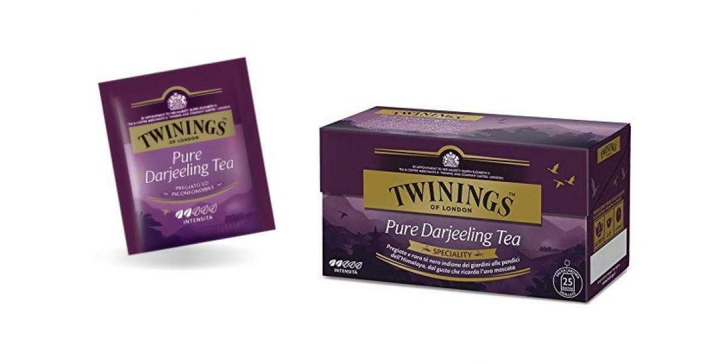 twinings twinings pure darjeeling tea 25 filtri