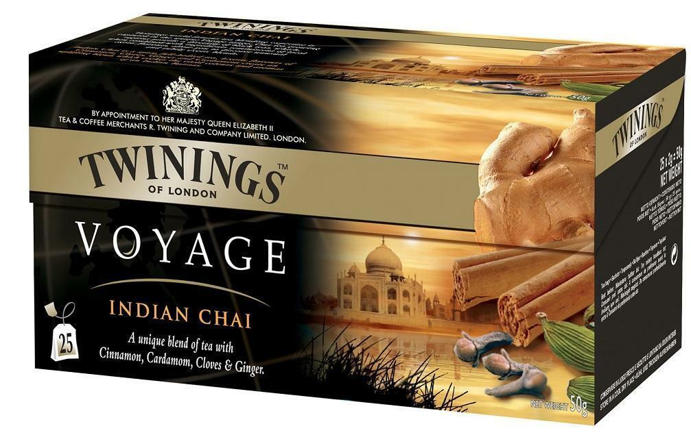 twinings twinings voyage indian chai tea 25 filtri