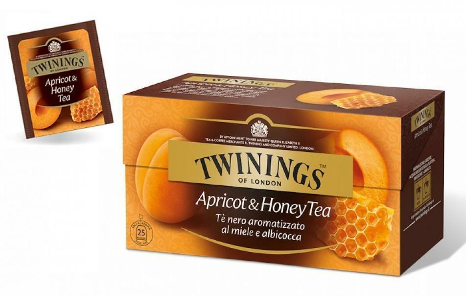 twinings twinings apricot & honey tea 25 filtri