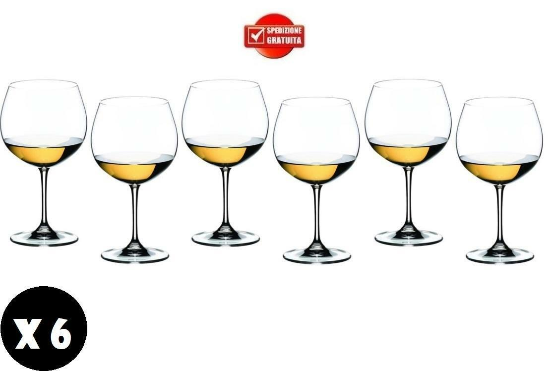 gold plast gold plast bicchieri per vino balloon 650cc in plastica anti opaca anti urto 6 pz