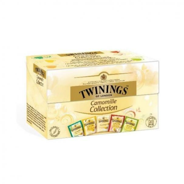 twinings twinings camomille collection 20 filtri misti