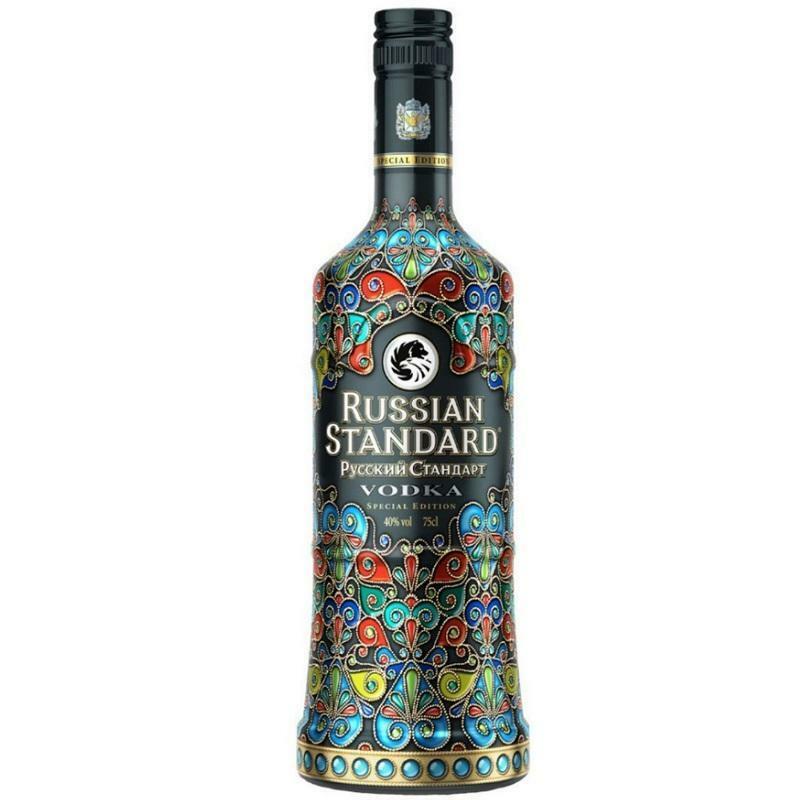 russian standard russian standard vodka special edition cloisonne 70 cl