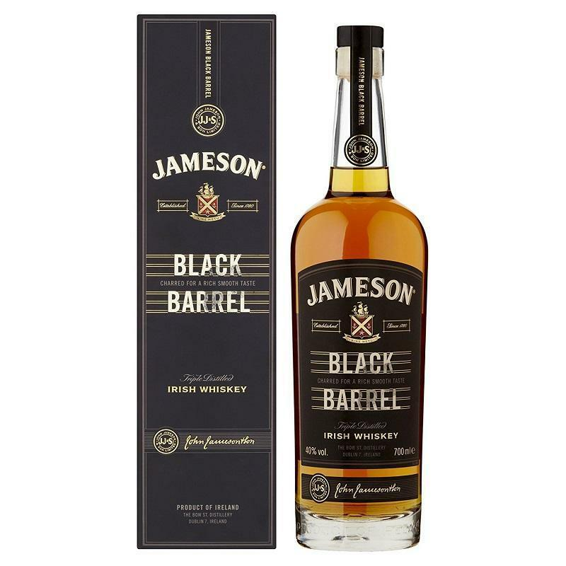 jameson jameson irish whisky black barrel 70 cl in astuccio