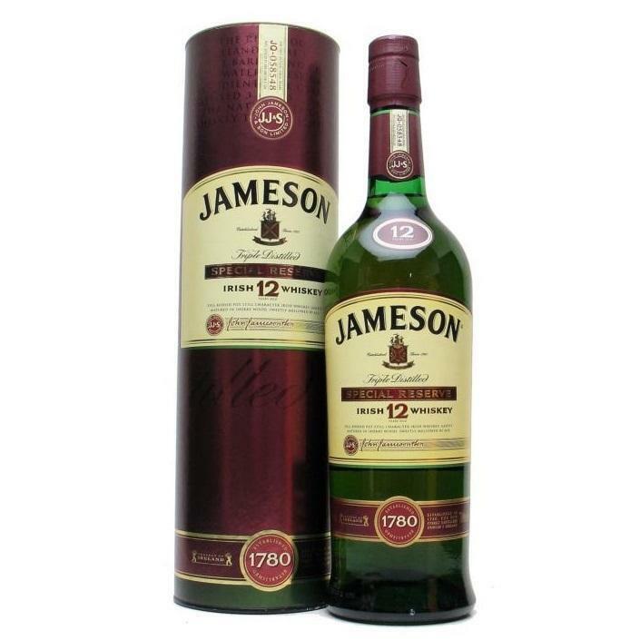 jameson jameson irish whisky 12 years old in astuccio
