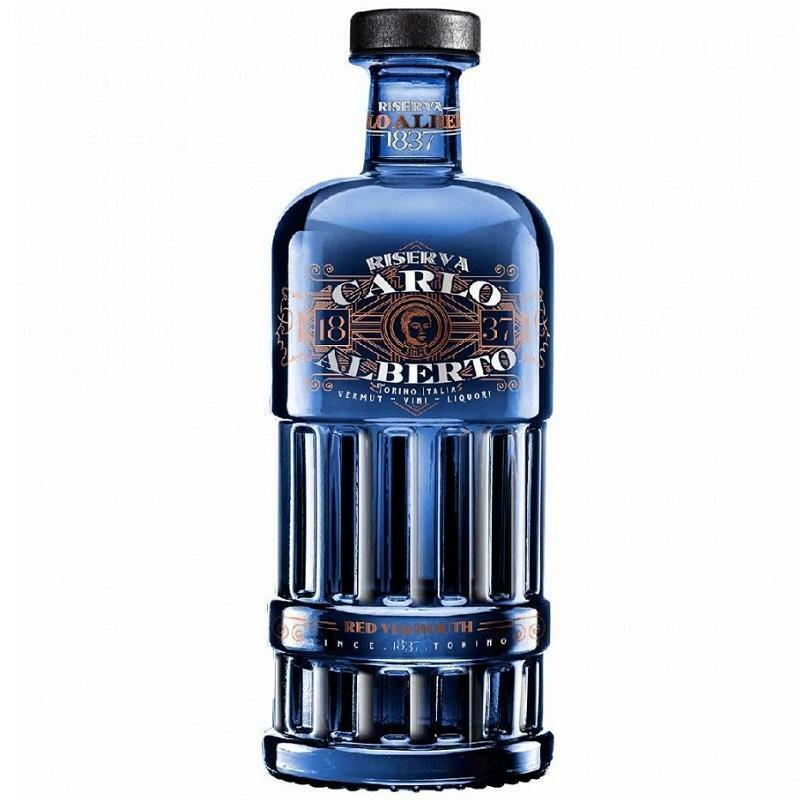carlo alberto carlo alberto premium vermouth red riserva  75 cl
