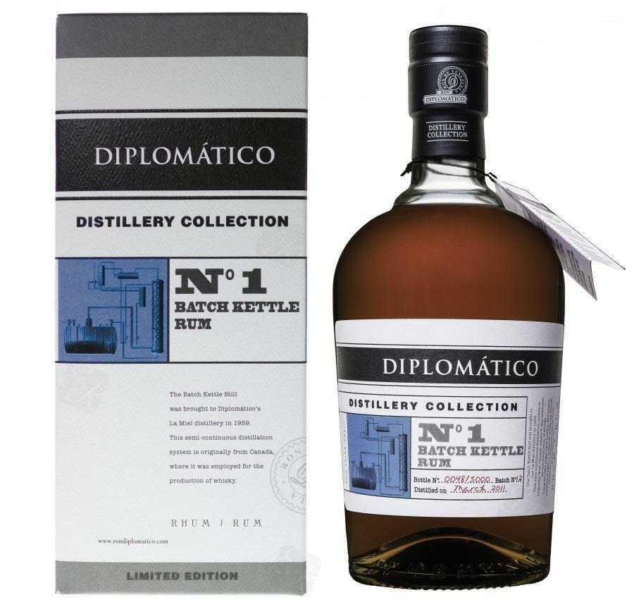 diplomatico diplomatico rum n 1 batch kettle distillery collection 70 cl in astuccio