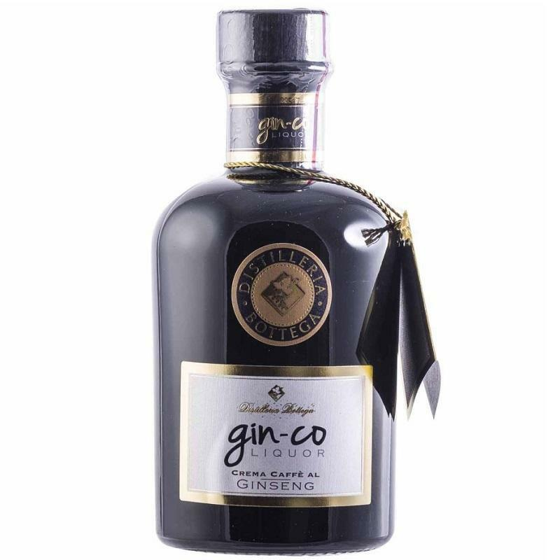 natfood natfood gin-co  ginco liquor crema caffe al ginseng 50 cl