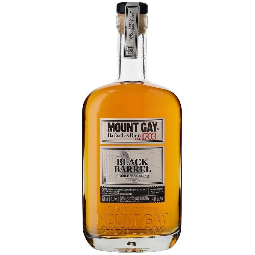 mount gay mount gay rum barbados est 1703 black barrel 70 cl