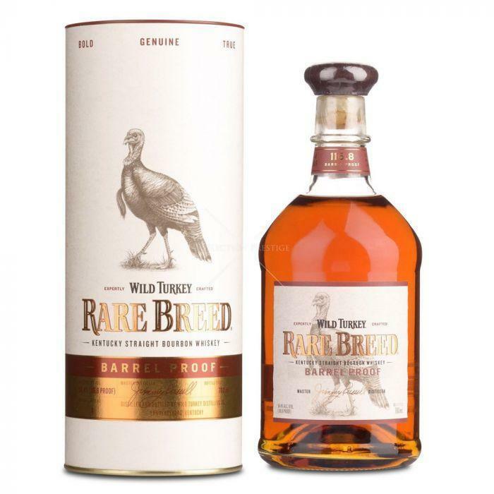 wild turkey wild turkey rare breed barrel proof kentucky traight bourbon whisky 70 cl
