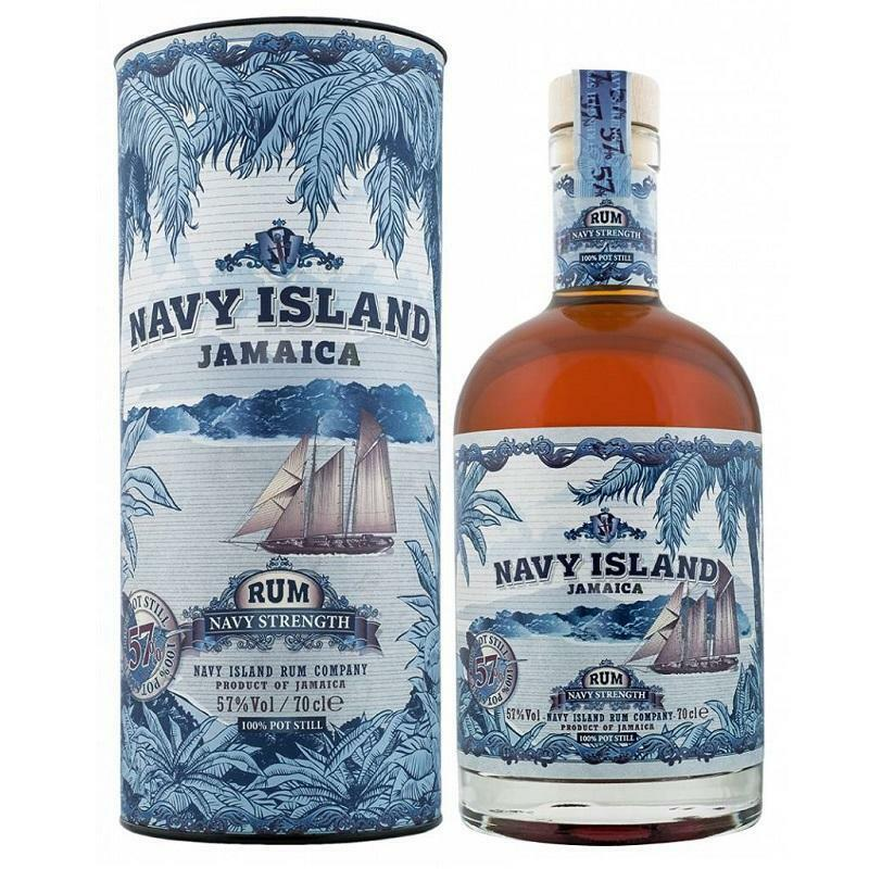navy island navy island jamaica rum navy strength 70 cl in astuccio