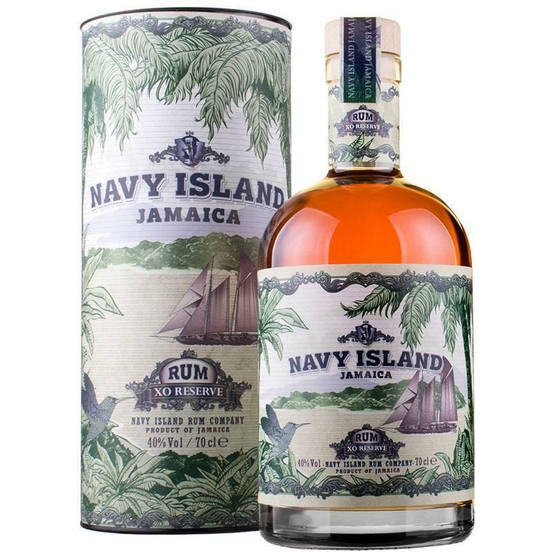 navy island navy island jamaica rum xo reserve 70 cl in astuccio