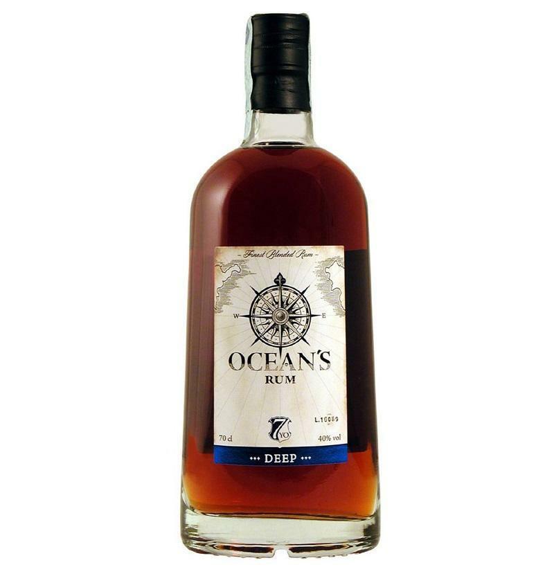 ocean's ocean's rum deep & singular 7 anni 70 cl