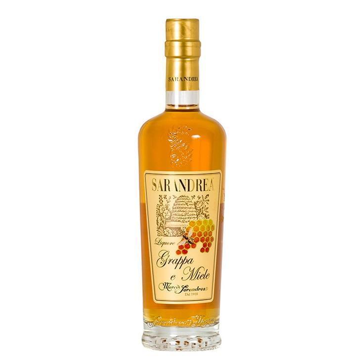 sarandrea sarandrea liquore grappa e miele 50 cl