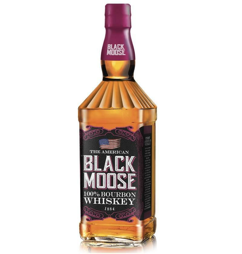 black moose black moose the american whiskey 100% bourbon 1 lt