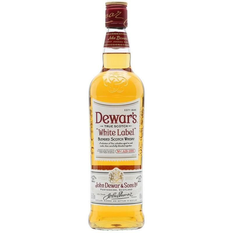 dewar's dewar's white label blended scotch whisky 70 cl