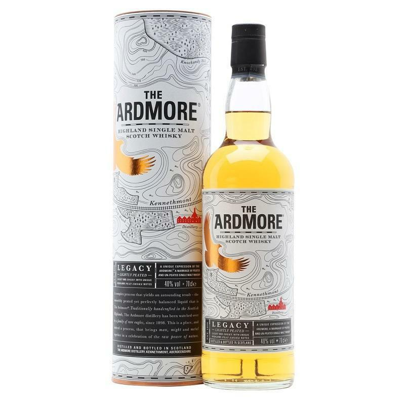 the ardmore the ardmore highland single malt scotch whisky 70 cl in astuccio