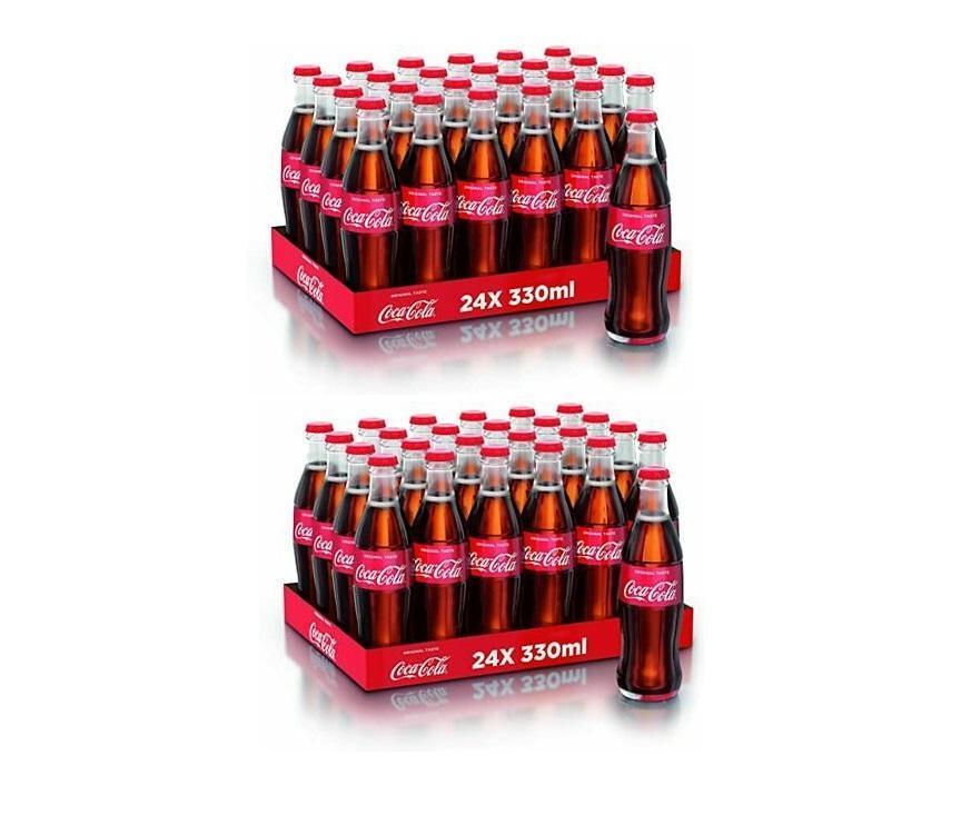 coca cola coca cola classica in vetro 33 cl 48 bottigliette