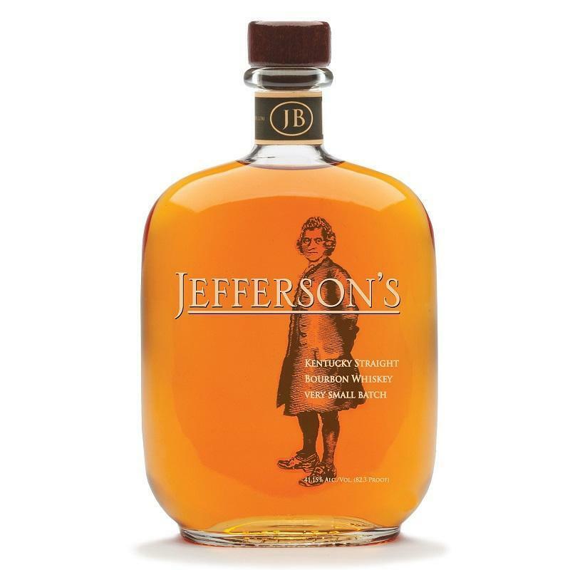 jefferson's jefferson's bourbon whisky very small batch 70 cl