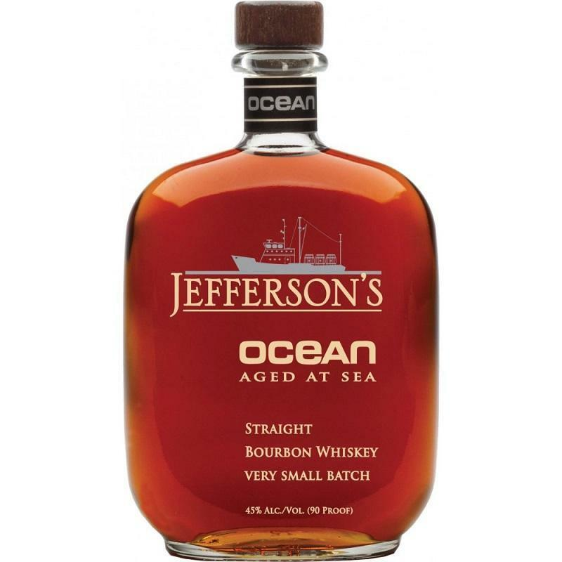 jefferson's jefferson's bourbon whisky ocean aged at sea 70 cl 90 proof