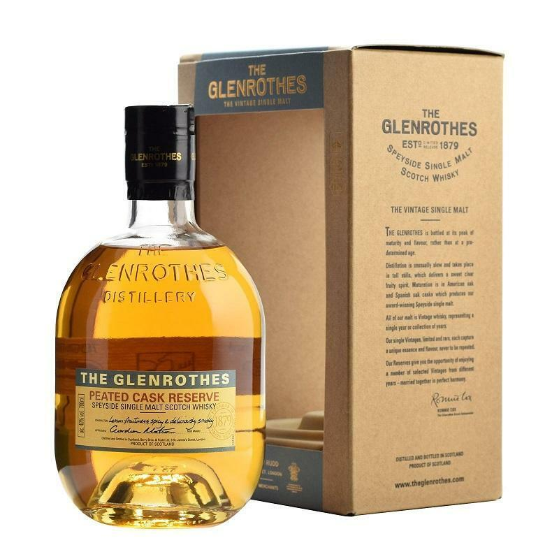 the glenrothes the glenrothes peated cask reserve speyside single malt scotch whisky 70 cl
