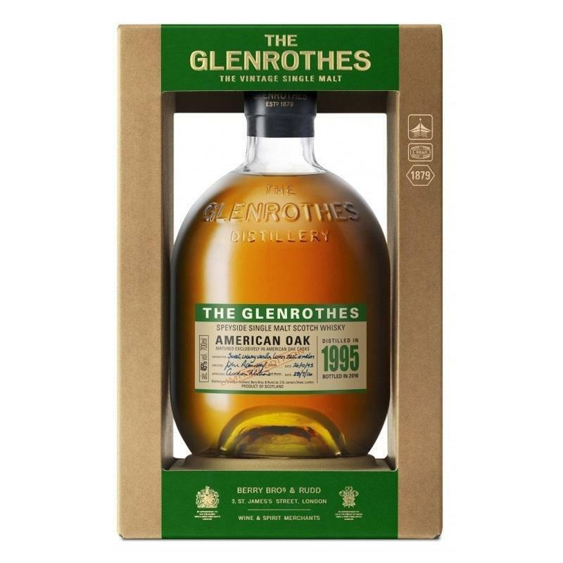 the glenrothes the glenrothes speyside single malt scotch whisky american oak 70 cl 1995