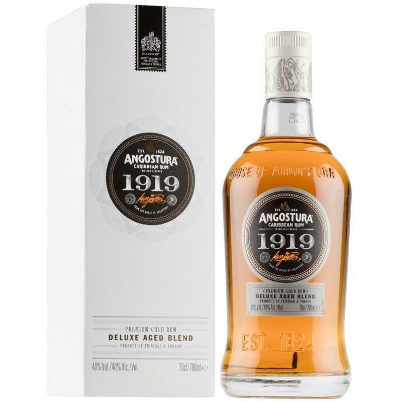 angostura angostura 1919 carribean premium gold rum deluxe aged blended 70 cl