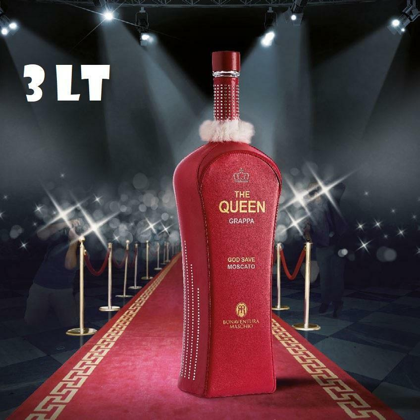 bonaventura maschio bonaventura maschio the queen grappa moscato red 3 lt in astuccio