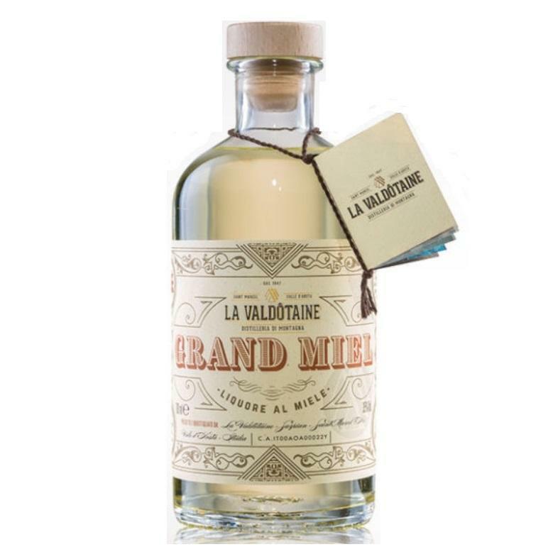 la valdotaine la valdotaine grand miel liquore al miele 70 cl