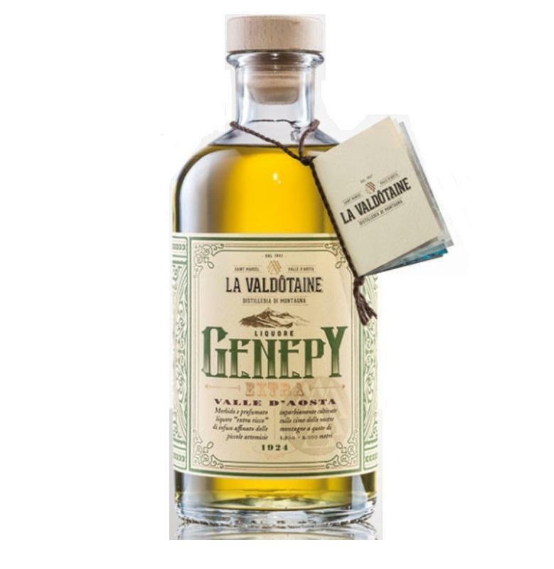 la valdotaine la valdotaine genepy extra liquore al ginepro 70 cl