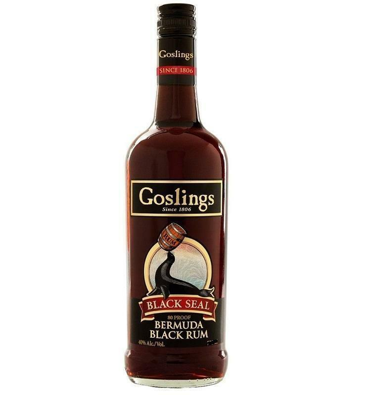 gosling's gosling's rum black seal 1 litro