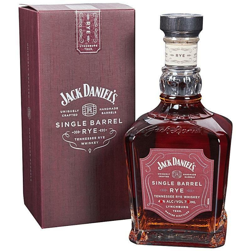 jack daniel's jack daniel's whiskey rye single barrel70 cl in astuccio