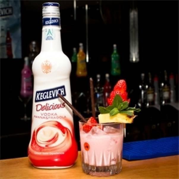 keglevich keglevich vodka panna e fragola 70 cl