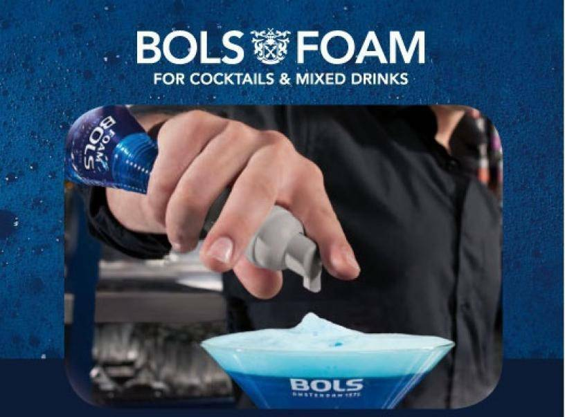 bols bols kit foam (cacao white, peppermint, amaretto)