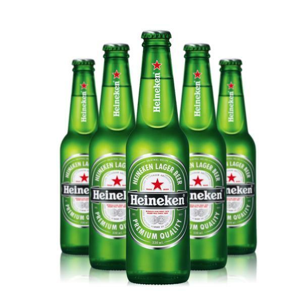 heineken heineken birra premium quality lager beer 33 cl 24pz