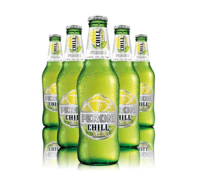 peroni peroni chill lemon birra al limone 33 cl 24pz