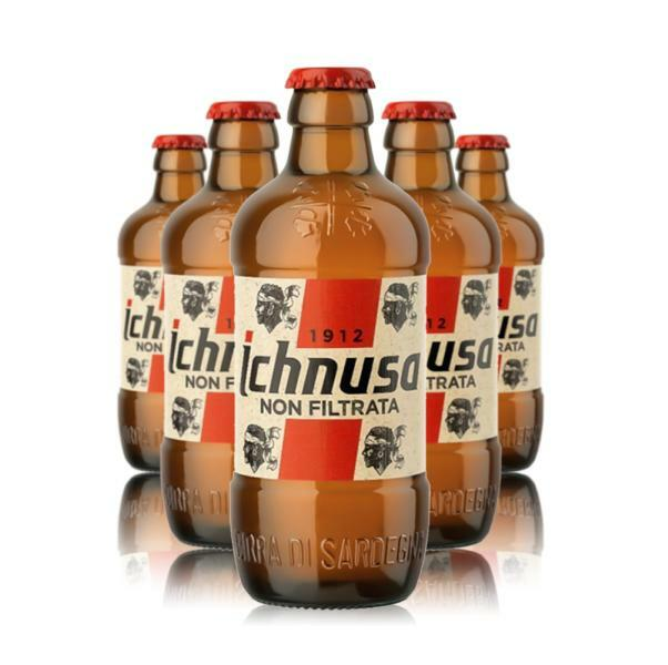 ichnusa ichnusa birra non filtrata 33 cl 24pz