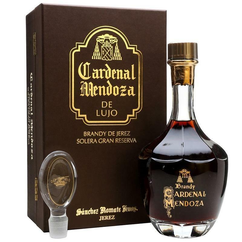 cardenal mendoza cardenal mendoza de lujo brandy de jerez solera gran reserva 70 cl