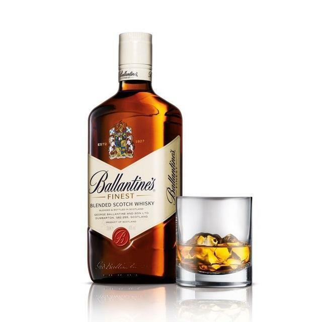 ballantine's ballantine's whisky 1 litro + 1 bicchiere originale