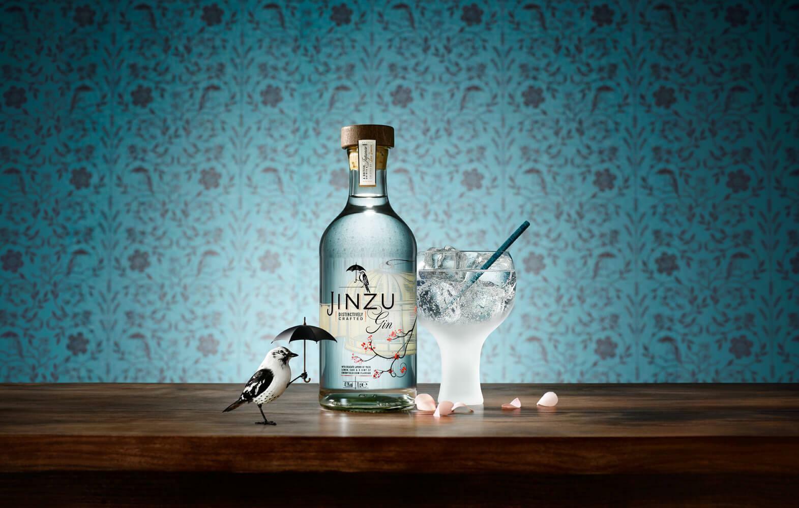 jinzu jinzu gin distinctively crafted 70 cl