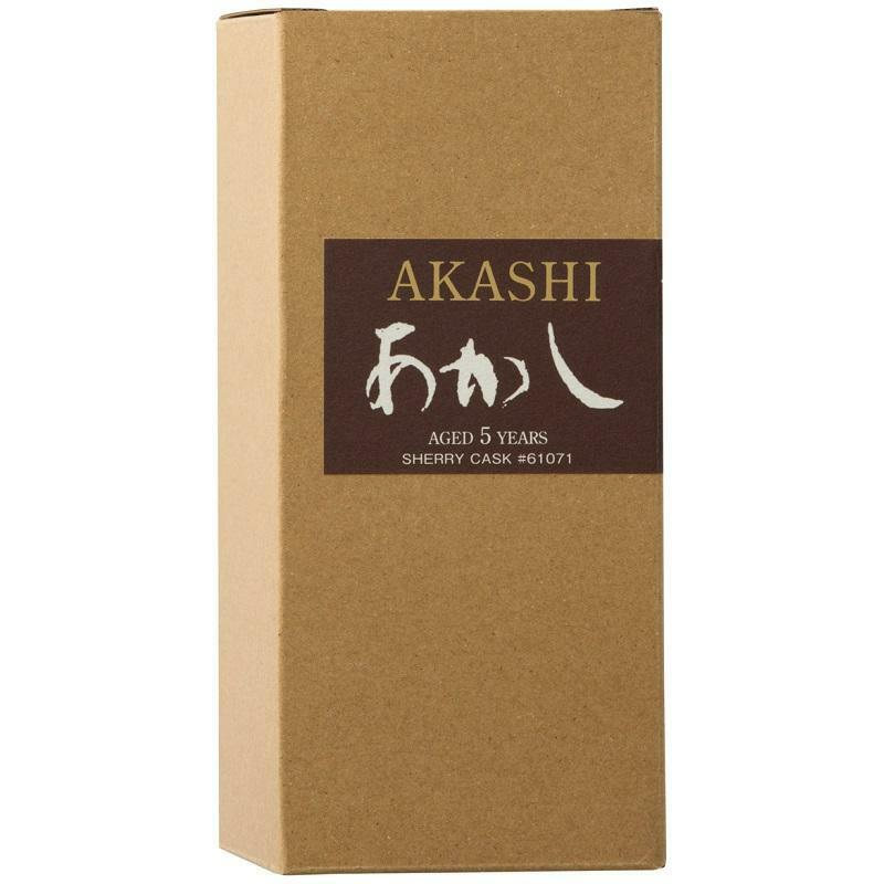akashi akashi japanese single malt whisky aged 5 years 50 cl